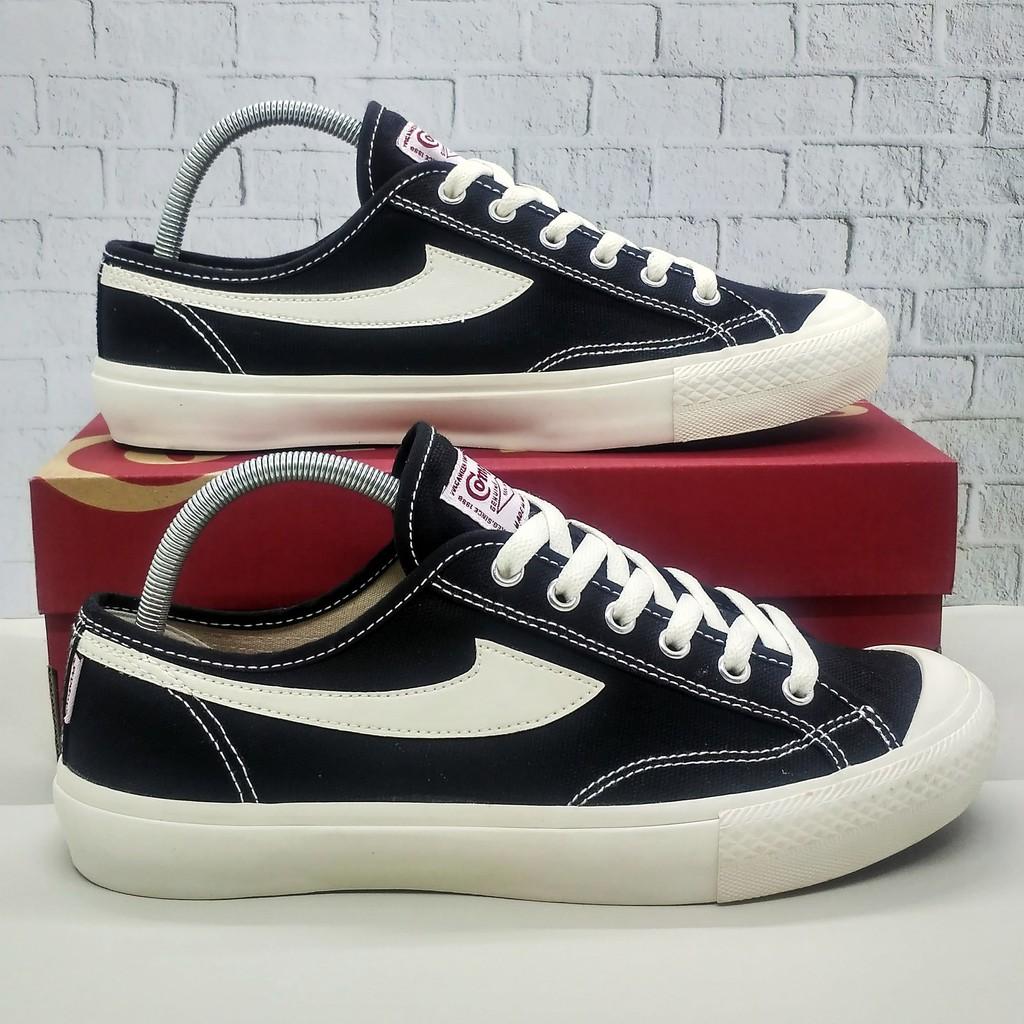 Sepatu Compass Gazelle Black White Shopee Indonesia