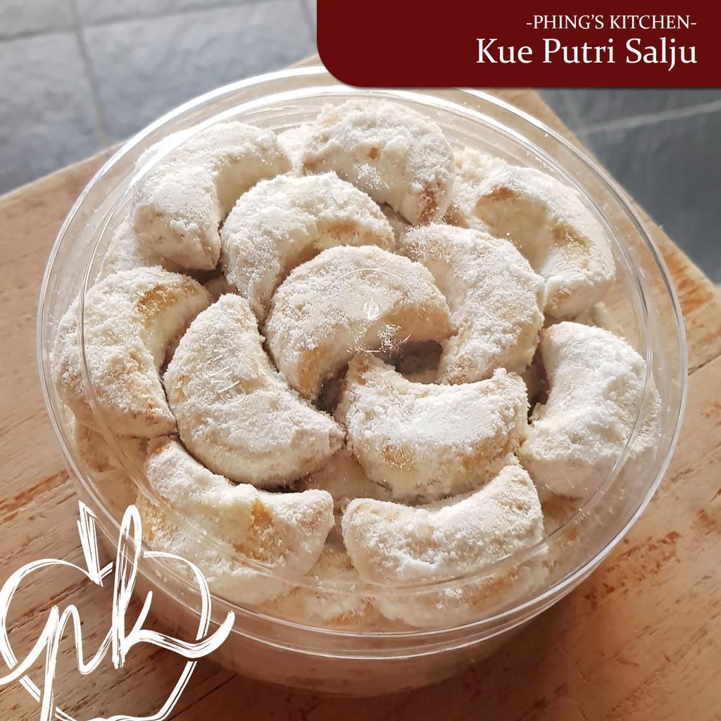 Kue Putri Salju Almond Wisjman Toples 500 Gram Premium Shopee Indonesia