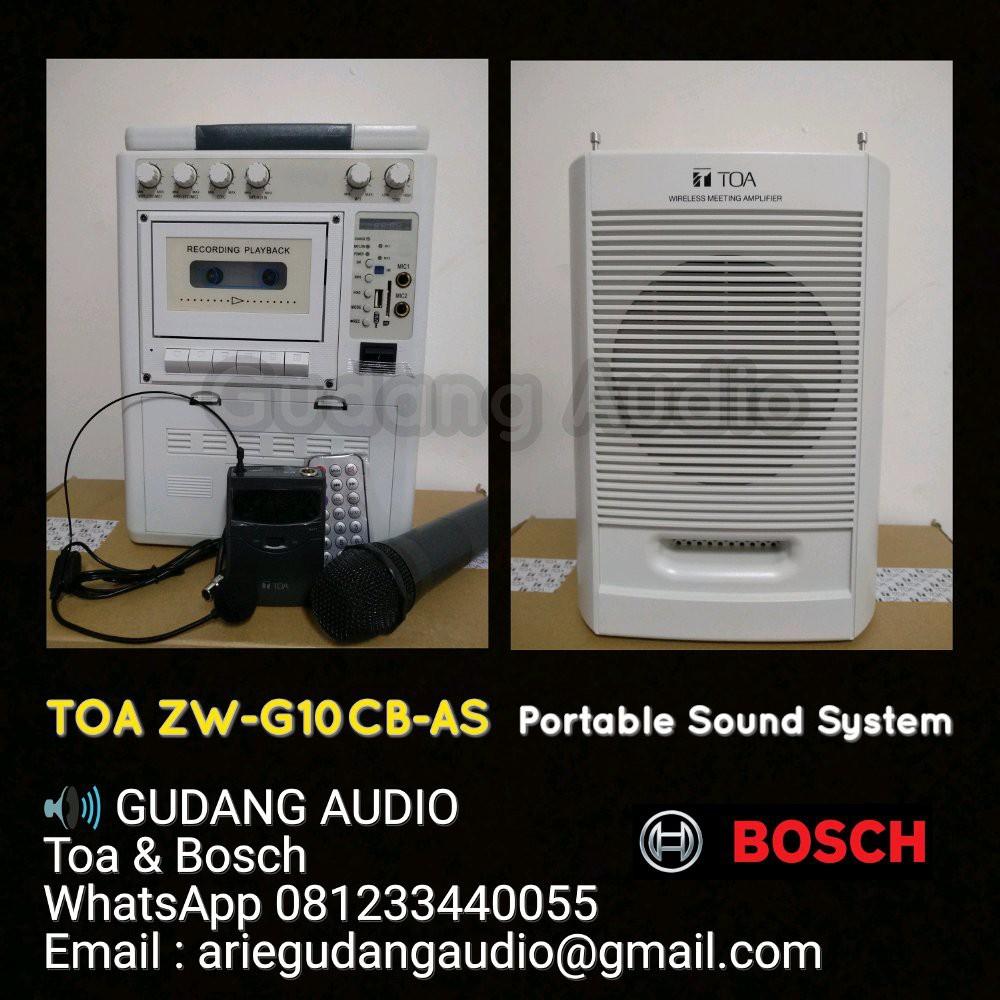 Portable Speaker Wireless Meeting Toa Zw G10cb As Daftar Harga G810 Termurah Murah Pa 155 Sc Soundclub 15 Inch Bluetooth Shopee