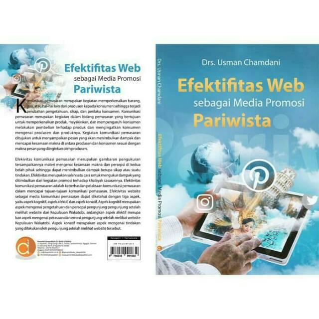 Buku Efektivitas Web Sebagai Media Promosi Pariwisata Shopee Indonesia