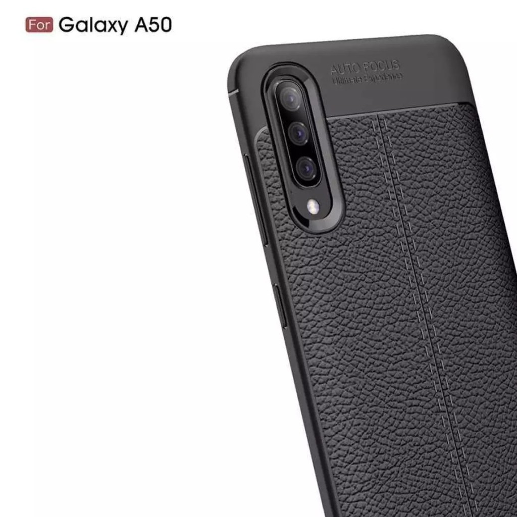 Softcase Autofocus Samsung A50 A50S Slim Leather Case Samsung A50 Samsung A50S