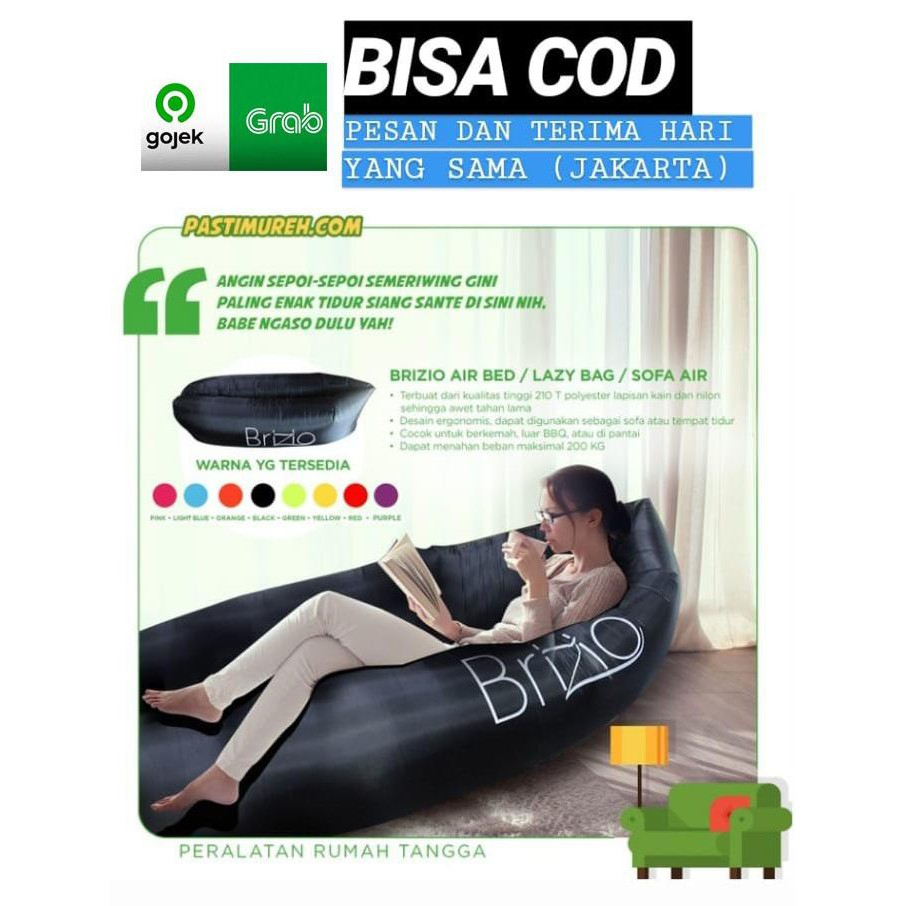 Lazy Bag Air Sofa Bed Kasur Angin