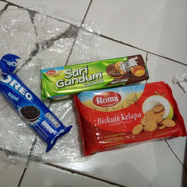 Biskuitkemasan: Kardusan & Eceran Biskuit Roma Sari Gandum Sandwich