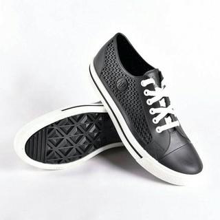 Ap Star HITAM Sepatu Karet ApStar Boot Murah Converse Pria Vans Cewek -  Hitam Putih 70f7f17492