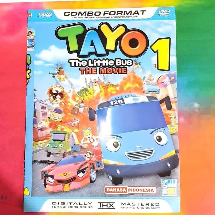 New Movie Kaset Dvd Movie Animasi Tayo The Little Bus Shopee Indonesia