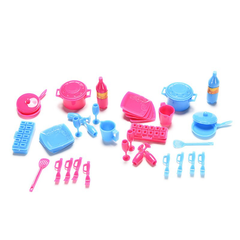 Bayar Di Tempat Mainan Dapur Mini Alat Alat Masak Untuk Barbie Shopee Indonesia