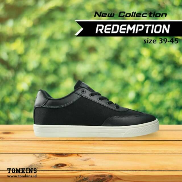 Sepatu Tomkins Pria Steve Blackwhite - Daftar Harga Terlengkap Indonesia d78ac575e8