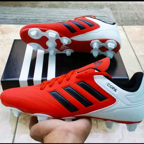 Promo Sepatu Bola Adidas Copa Red List Black Made In Vietnam