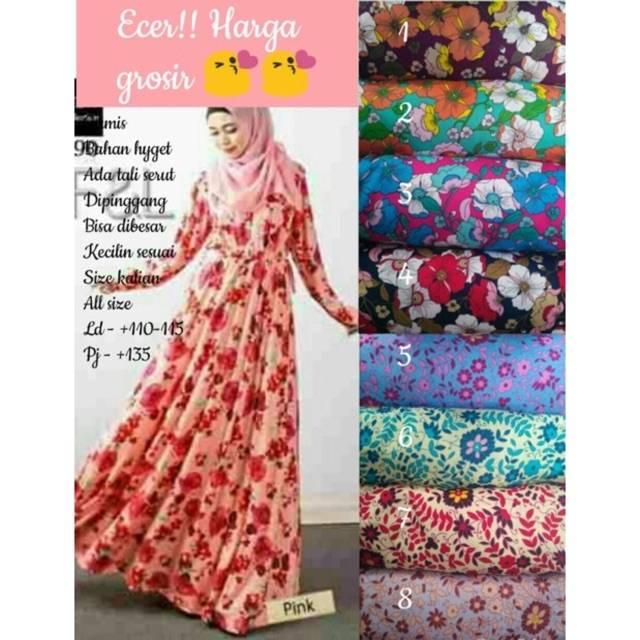 Gamis Hyget Tebal Shopee Indonesia