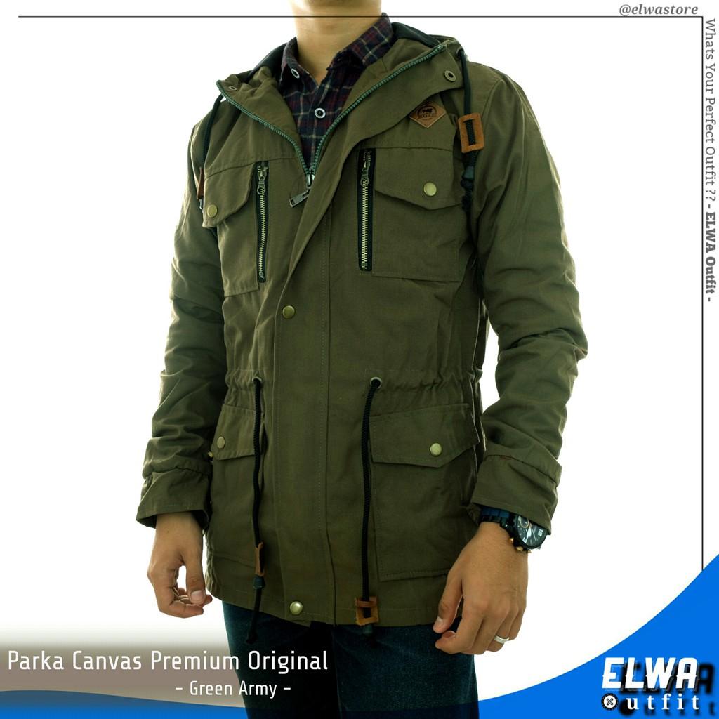 3f3439aafd8 Jaket Army Jaket Pria Original Kanvas Jaket Us Army militer