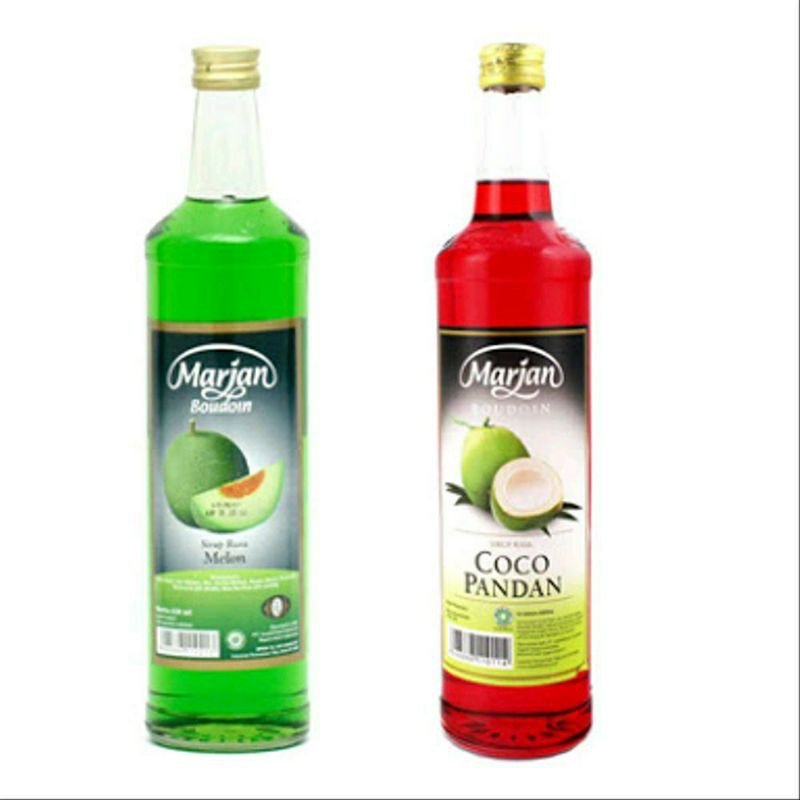 Sirup Marjan Boudoin 1 Dus [ isi 12 botol ]
