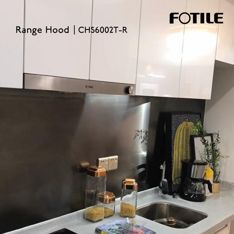 Fotile Range Hood Penghisap Asap Dapur Model Chs6002t R Tanpa Cover Shopee Indonesia