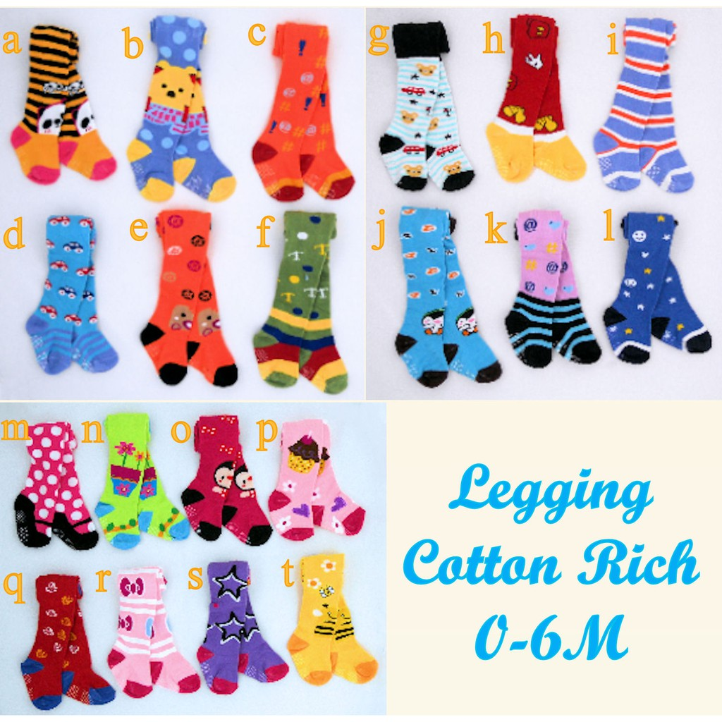 Legging Cotton Rich Motif Bayi Cowok Laki Murah Shopee Indonesia 4pc
