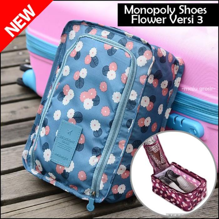 PROMO Korean Travel Organizer Bag (Tas travel banyak sekat) wanita ... fa1e35f355