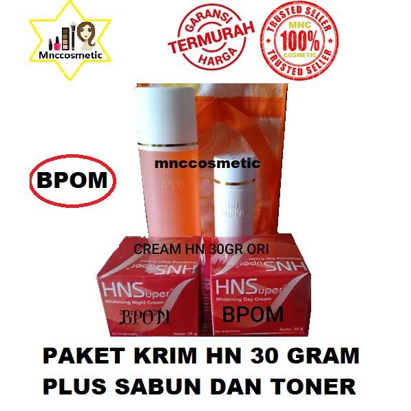 Paket Perawatan Wajah Whitening Cream HN Hetty Nugrahati ORIGINAL pot cream 15gr / size kecil | Shopee Indonesia