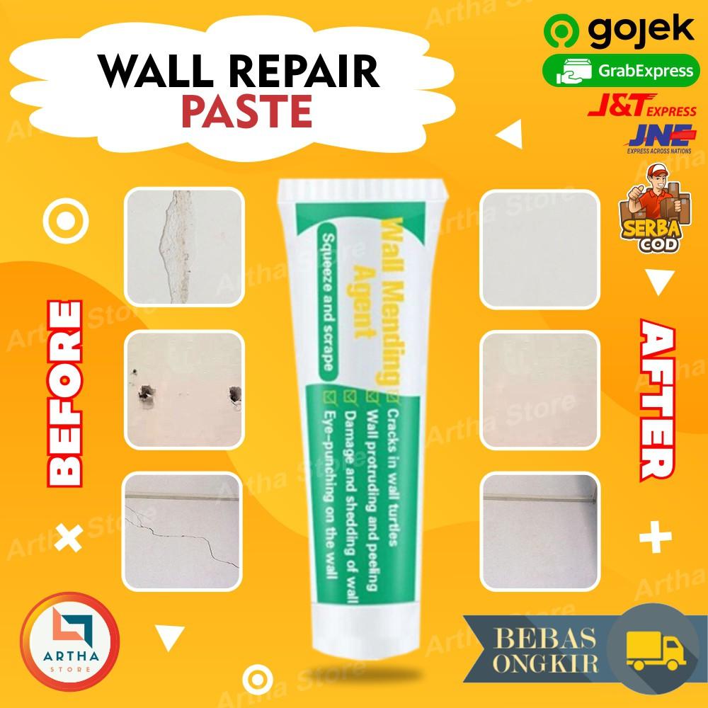 Krim Perbaikan Dinding Gypsum Retak Cream Penghalus Tembok Dinding