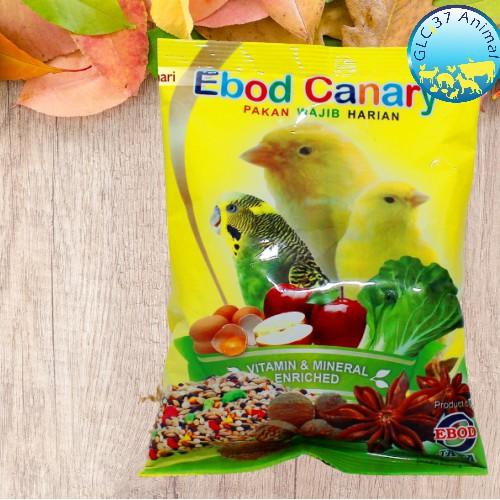 Kemasan Plastik Pakan Makanan Harian Burung Kenari Blackthroat Sanger Branjangan Parkit Biji Millet Shopee Indonesia