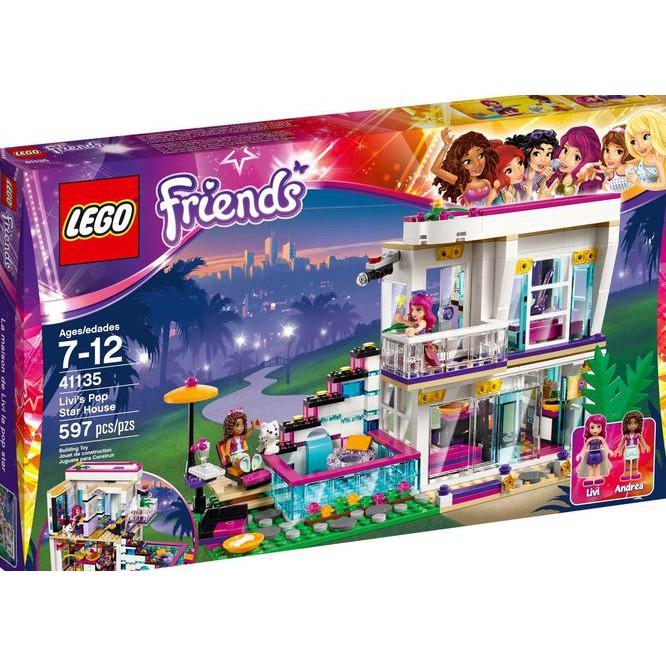Lego Friends 41135 Livis Pop Star House Shopee Indonesia