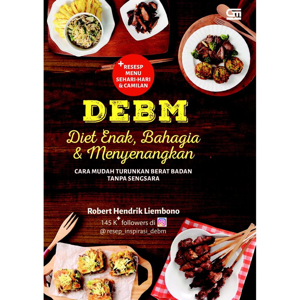 Debm Diet Enak Bahagia Dan Menyenangkan Shopee Indonesia