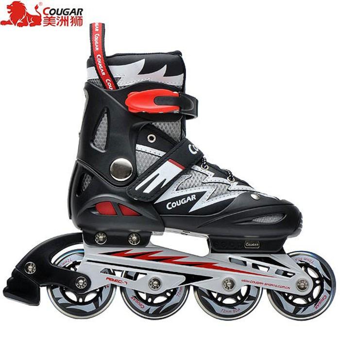 Promo Inline Skate Lynx SPH30 Black Sepatu Roda Lynx Speed Hitam Gratis  Ongkir  9d2e399f65