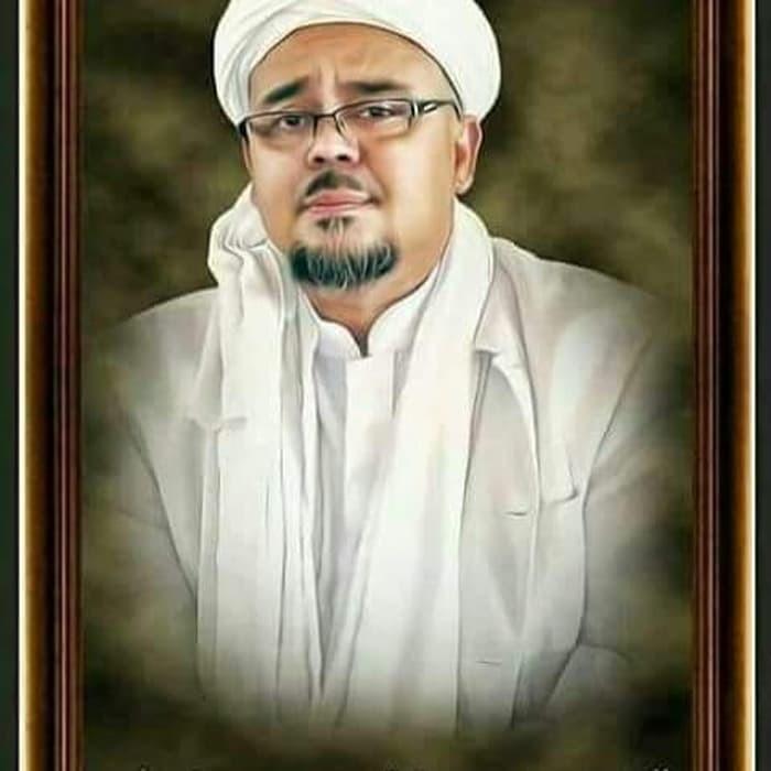 Foto Bingkai Habib Rizieq Shihab 24r B1536 Shopee Indonesia