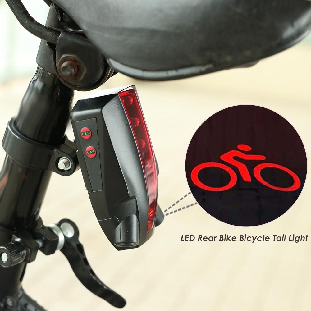 USB Rechargeable LED Bicycle Safety Warning Lamp MTB Front Rear Tail Light☆ ☆