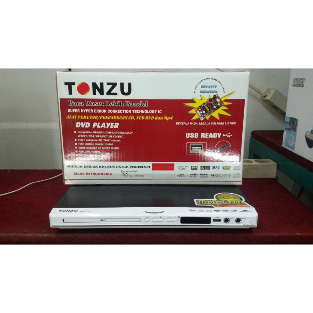 Dvd Player Tonzu Bm 911q Shopee Indonesia Kaset Rw