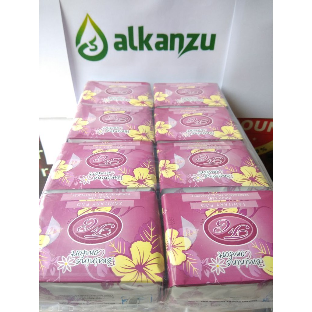 Avail Pembalut Herbal Night Use Merah Ori Semarang Shopee Indonesia