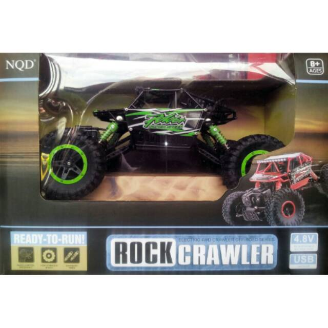 NQD RC Car Rock Crawler Offroad 4WD Chassis 1:18 Scale Power Super Speed New