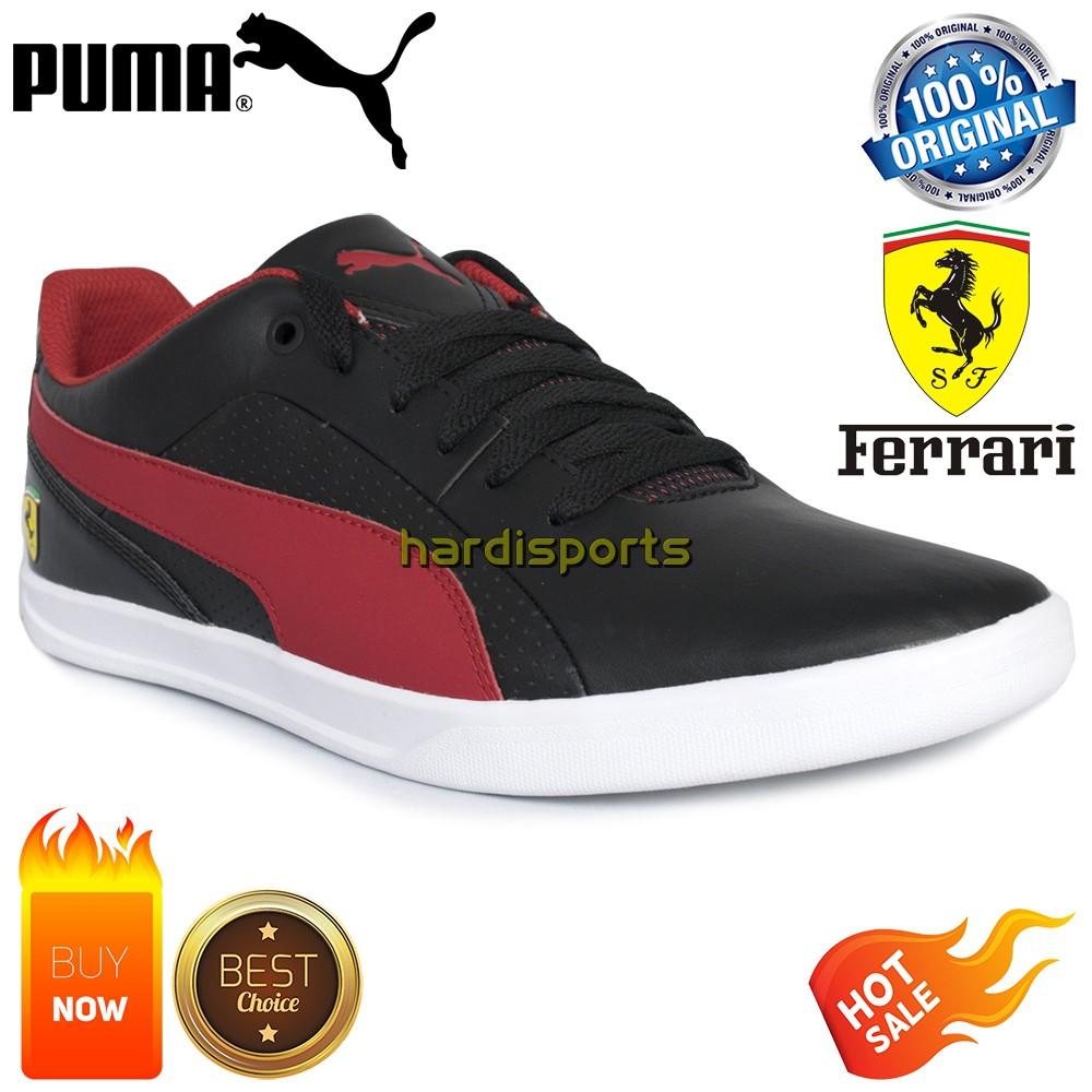Sepatu Sneaker Pria SE Puma SF Selezione 305905-05 - Black ORIGINAL