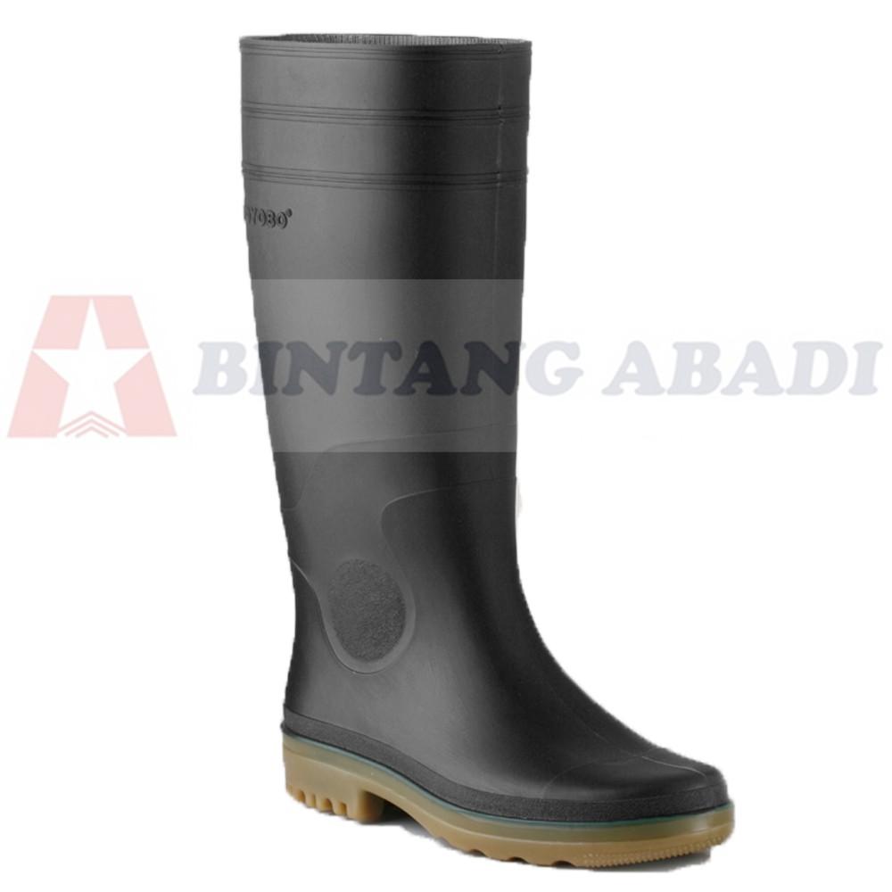 Toyobo Boots 8808 Sepatu Boot Kerja Karet Hitam Tinggi Panjang