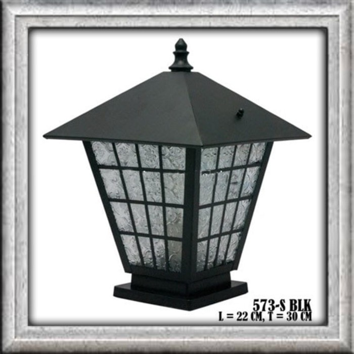 Lampu Pagar Taman Pilar Rumah Anti Air