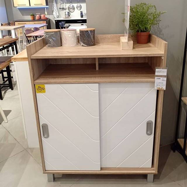 Pixie Kitchen Cart Informa Kabinet Dapur Serbaguna Murah Shopee Indonesia