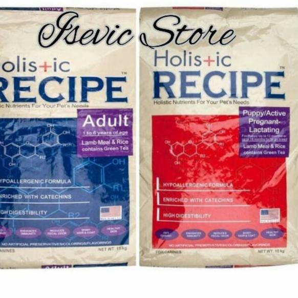 B.A.R.U ➤98 Holistic Recipe dog food
