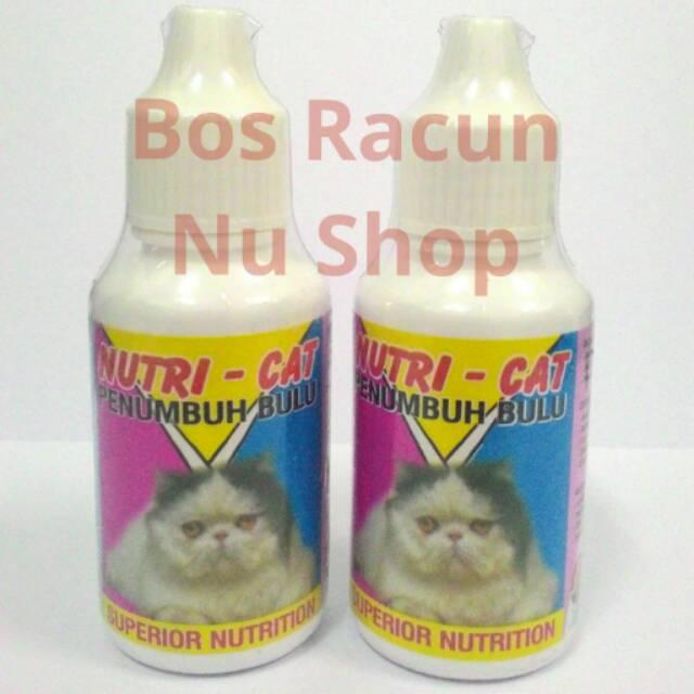 Vitamin Bulu Rontok Dan Penumbuh Bulu Kucing Nutri Cat Shopee Indonesia