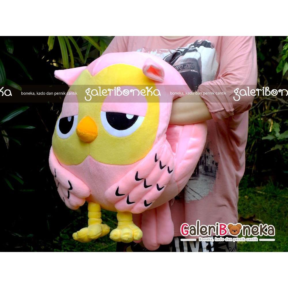 Dijual Boneka Tangan Roumang Burung Hantu Biru Limited  852d835a50