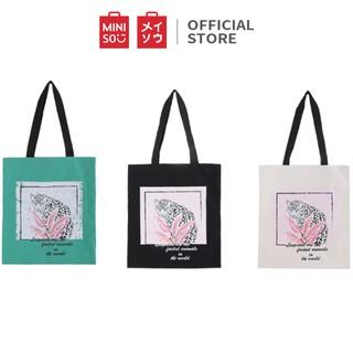 Miniso official Tas Belanja Rainforest-Leopard shopping bag