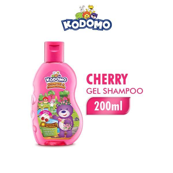 KODOMO Shampoo GEL CHERRY Botol 200ML