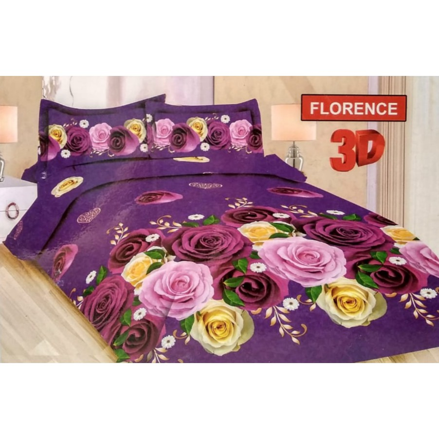Sprei Bonita Romantic Paris Queen 160 No2 Seprai Biru Menara Eiffel King 3d Motif Lovely Princess