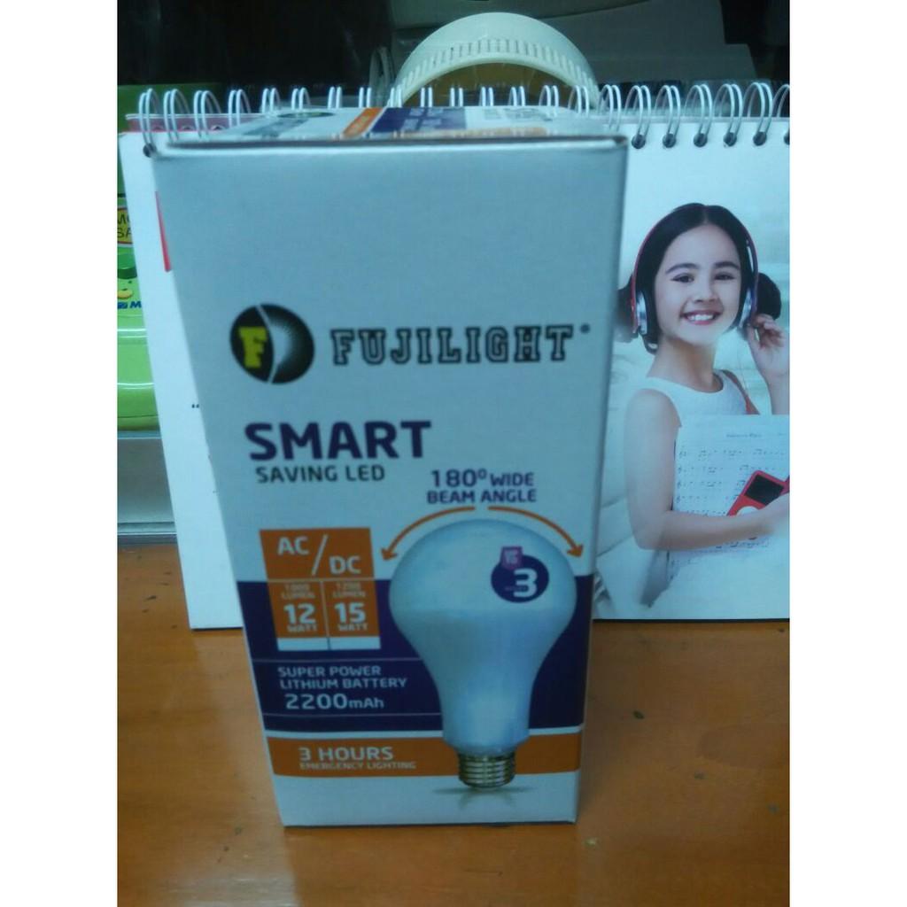 Lampu Led Fujulight 15w Shopee Indonesia Hannochs Genius Ac Dc 10w