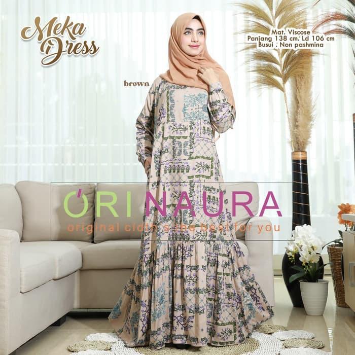 Model Baju Gamis Terbaru 2020 Wanita Berhijab Remaja Hijabfest