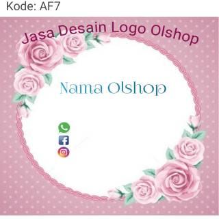 Desain Logo Olshop Kosong Hd Logo Keren