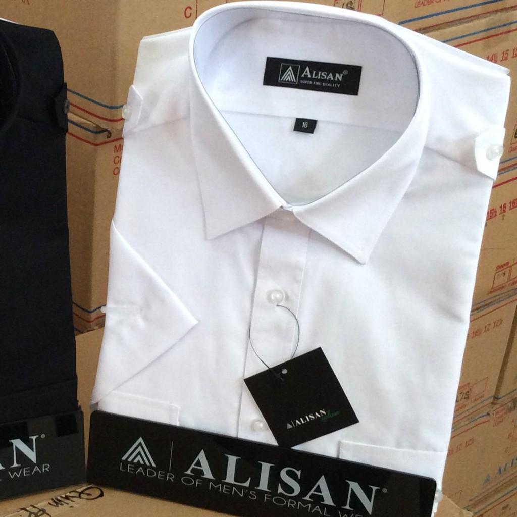 ALISAN Original Kemeja Motif Salur Lengan Pendek - Big Size - REGULER   Shopee Indonesia