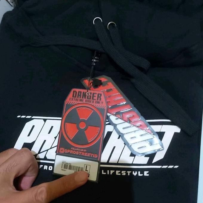 Best Quality hoodie pria keren⚫ HOODIE PROSTREET ORIGINAL KOHAKU V2 (NEW) SIZE L