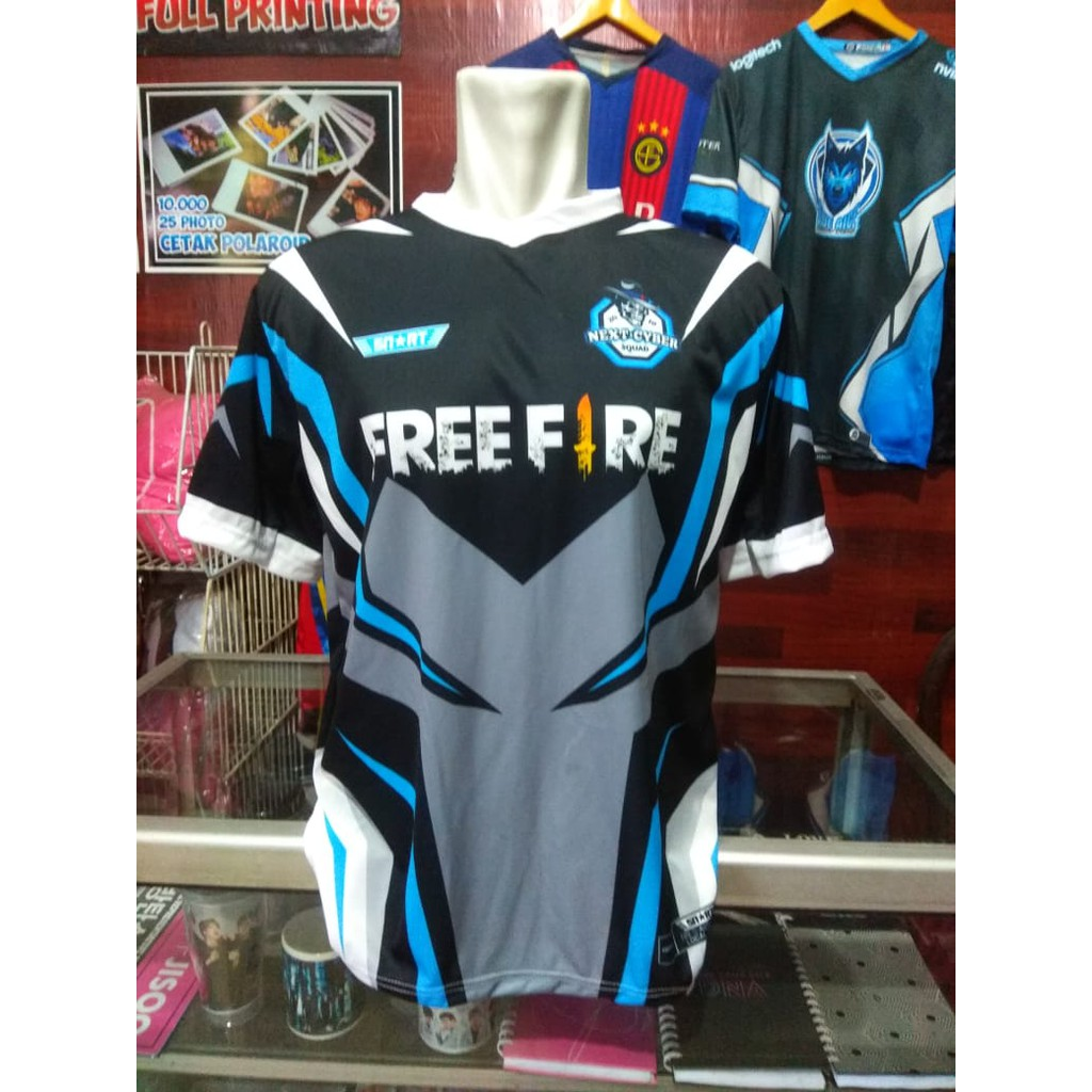 Baju Free Fire Guild - BAJUKU
