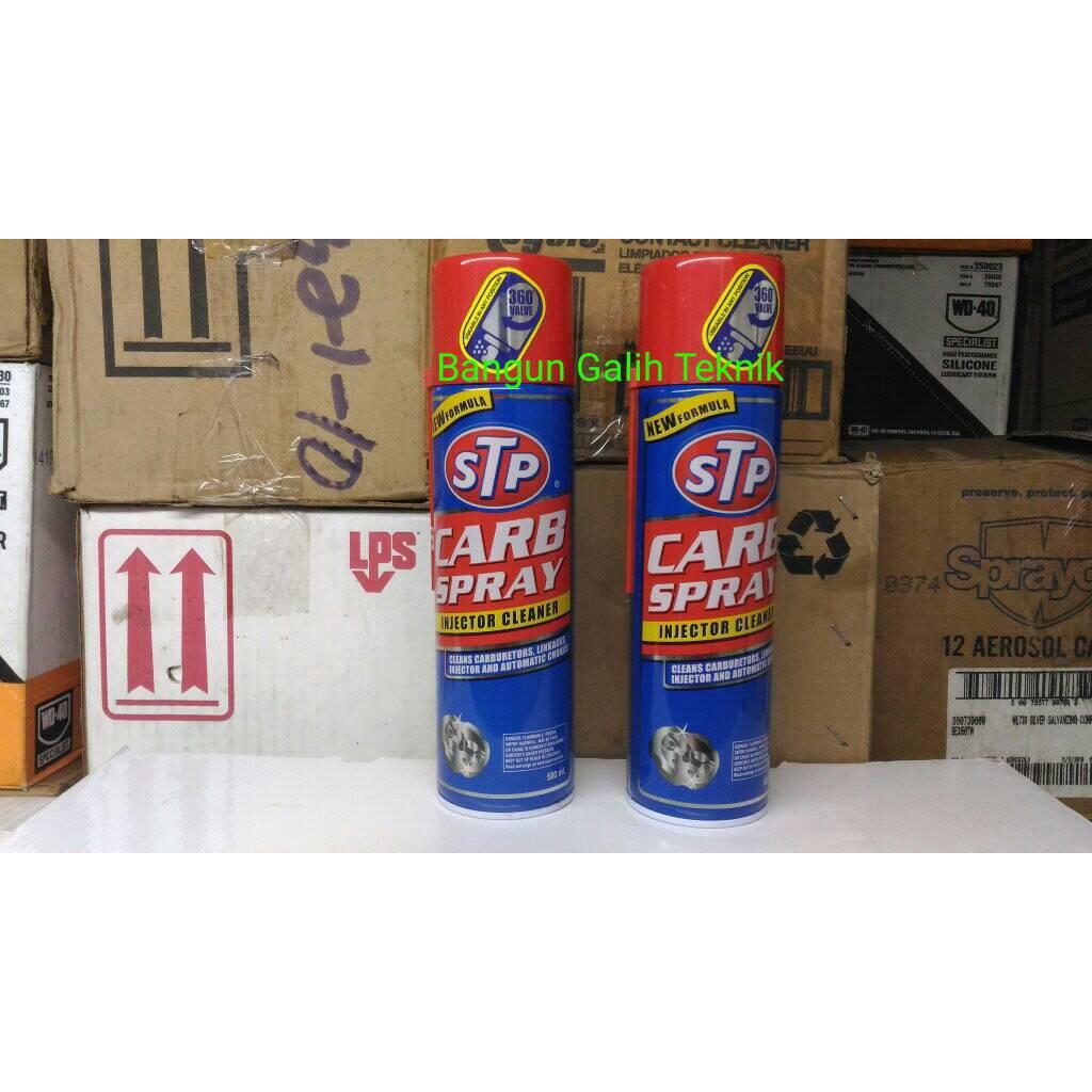 Stp Carb Spray Injector Cleaner Carburator 500 Ml Ampamp Cairan Pembersih Karburator Injektor Made In Usa Shopee Indonesia