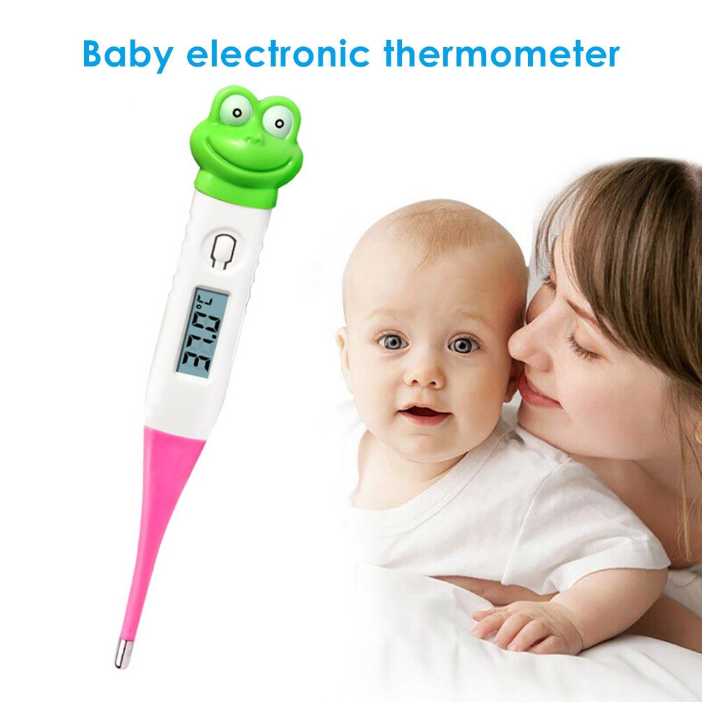 Baby Body LCD Digital IR Laser Infrared Ear Digital Temperature Thermometer Pen