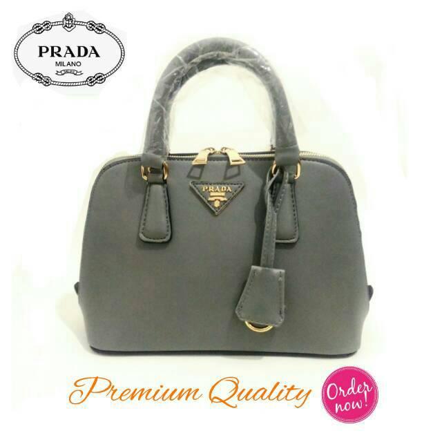 Tas Prada Plex Ribbon Geometric Semi Premium 2017  273c14fc22