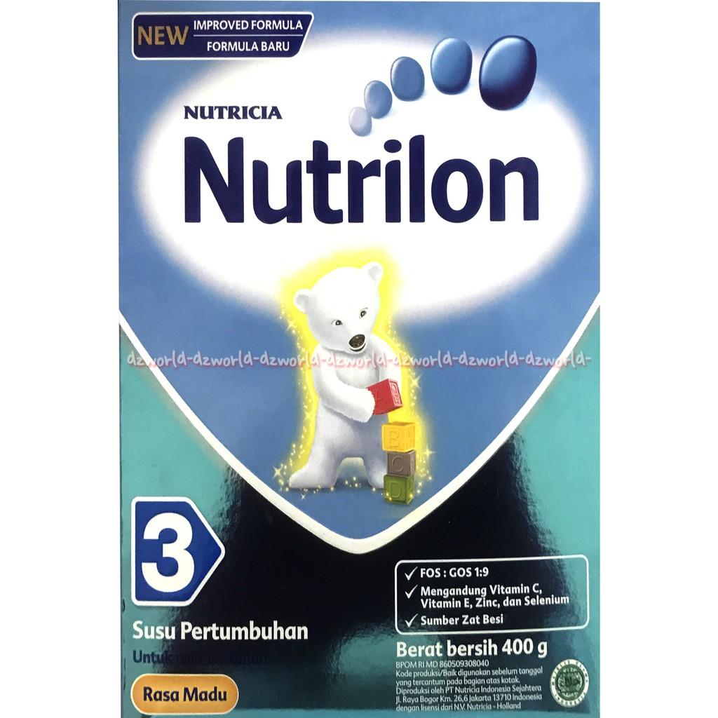 Nutricia Nutrinidrink Nutrini Drink Susu Bubuk Formula Rasa Vanilla Bebelac 4 Madu 400gr 400 Gr Shopee Indonesia