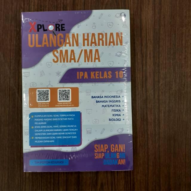 Buku Latihan Soal Dan Pembahasan Xplor Ulangan Harian Ipa Kelas 10 X 1 Sma Ma K13 Terbaru Grasin Shopee Indonesia